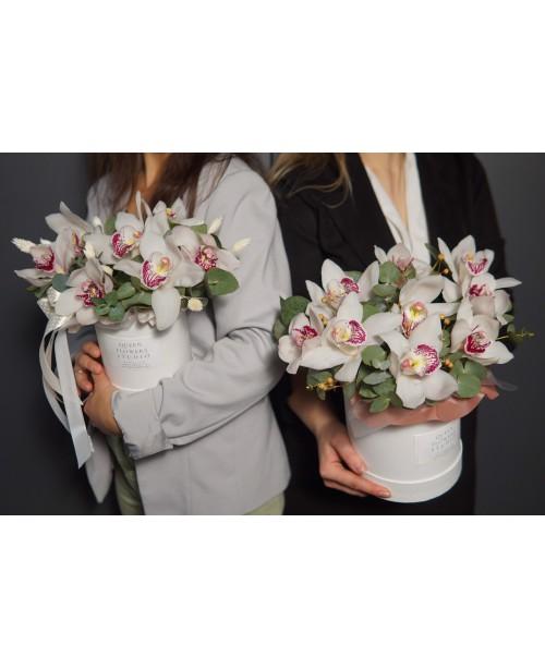 Коробка с орхидеями №...